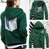 Attack on Titan Hoodie Unisex - The Night