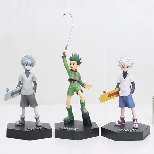 20cm Gon Freecss & Killua Zoldyck PVC Figure Toys - The Night