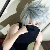 Kakashi Hatake Cosplay Wig + Wig Cap - The Night