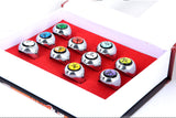 Naruto Rings 10pcs Akatsuki Cosplay Member's - The Night