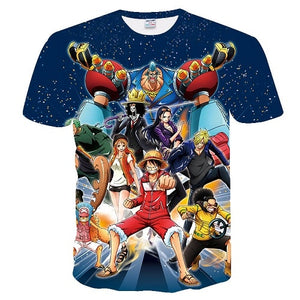 One piece 3D t-shirts Cosplay - The Night