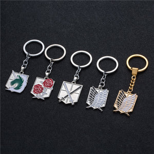 Attack on Titans  key chain holder - The Night