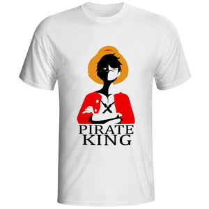 Monkey D Luffy t-shirts Cosplay - The Night
