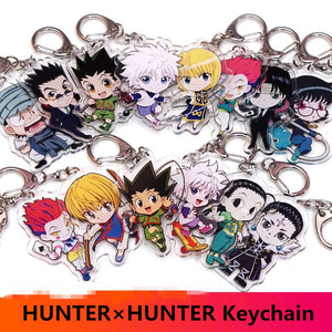 HUNTER x HUNTER Key Chains Two-sided
