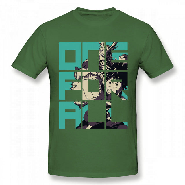 My Hero Academia All Might Midoriya T-Shirt - The Night