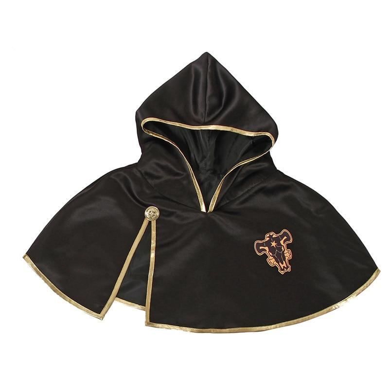 Black Clover Cosplay Asta Cloak Black Bull - The Night