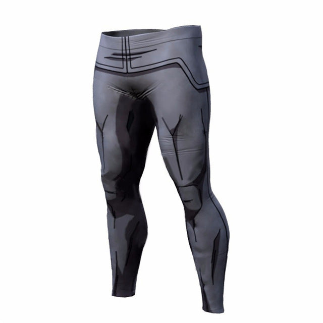 Dragon Ball Pants Compression Trousers Fitness - The Night