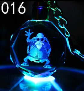 Dragon Ball Resin Figure Keychain Led Holder - The Night