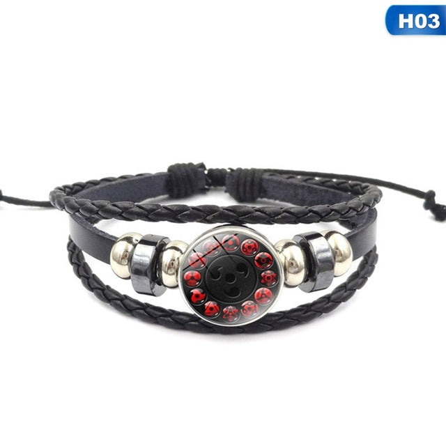 Sharingan Eye Narutor Bracelet - The Night