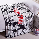 Boy girl anime fairy tale blanket - The Night