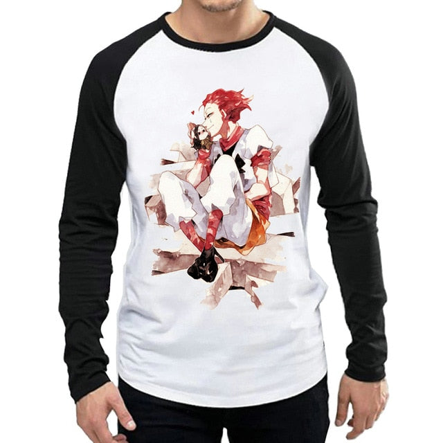 Long Sleeve HUNTER X HUNTER White Color - The Night