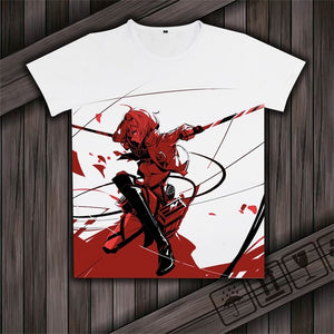 Attack On Titan Cosplay  T-shirts - The Night