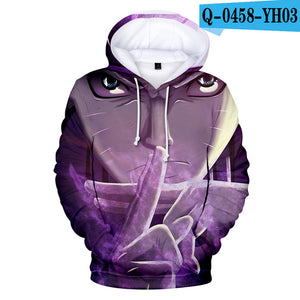 Fashion 3D Naruto Hoodies - The Night