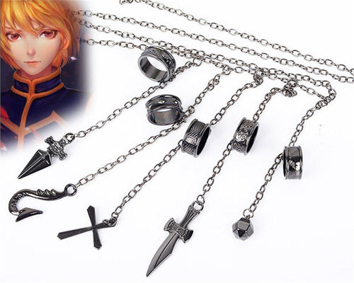 Kurapika five darts A finger ring Chain Weapon - The Night