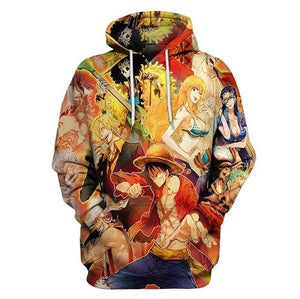 One piece 3D Hoodies Cosplay - The Night