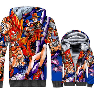 JoJo Bizarre Adventure 3D hoodies - The Night