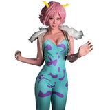 Mina Ashido Cosplay Costume My Hero - The Night
