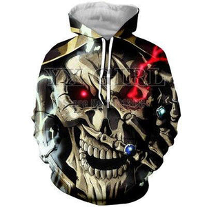 Overlord 3d Fashion Hoodies - The Night