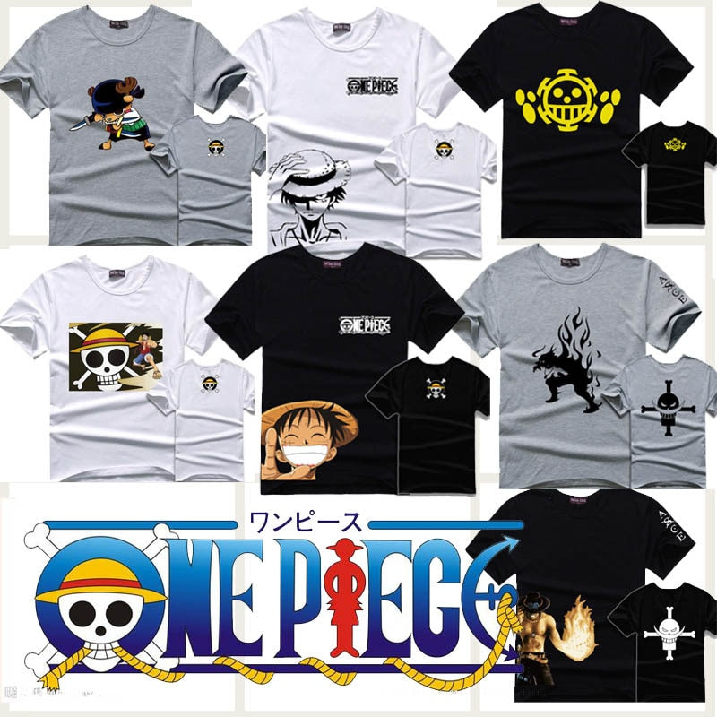 One Piece T-shirt short sleeve - The Night