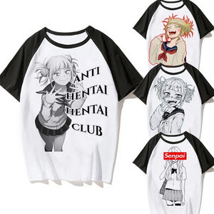 senpai Ahegao T-Shirt Men Himiko Toga - The Night
