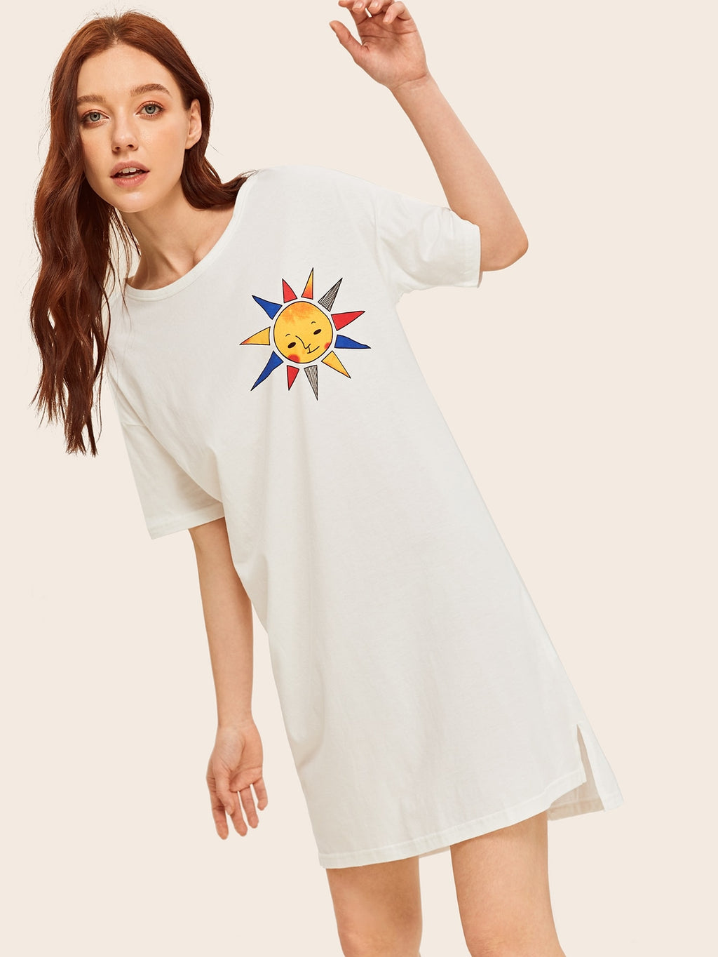 Sun Print Nightdress