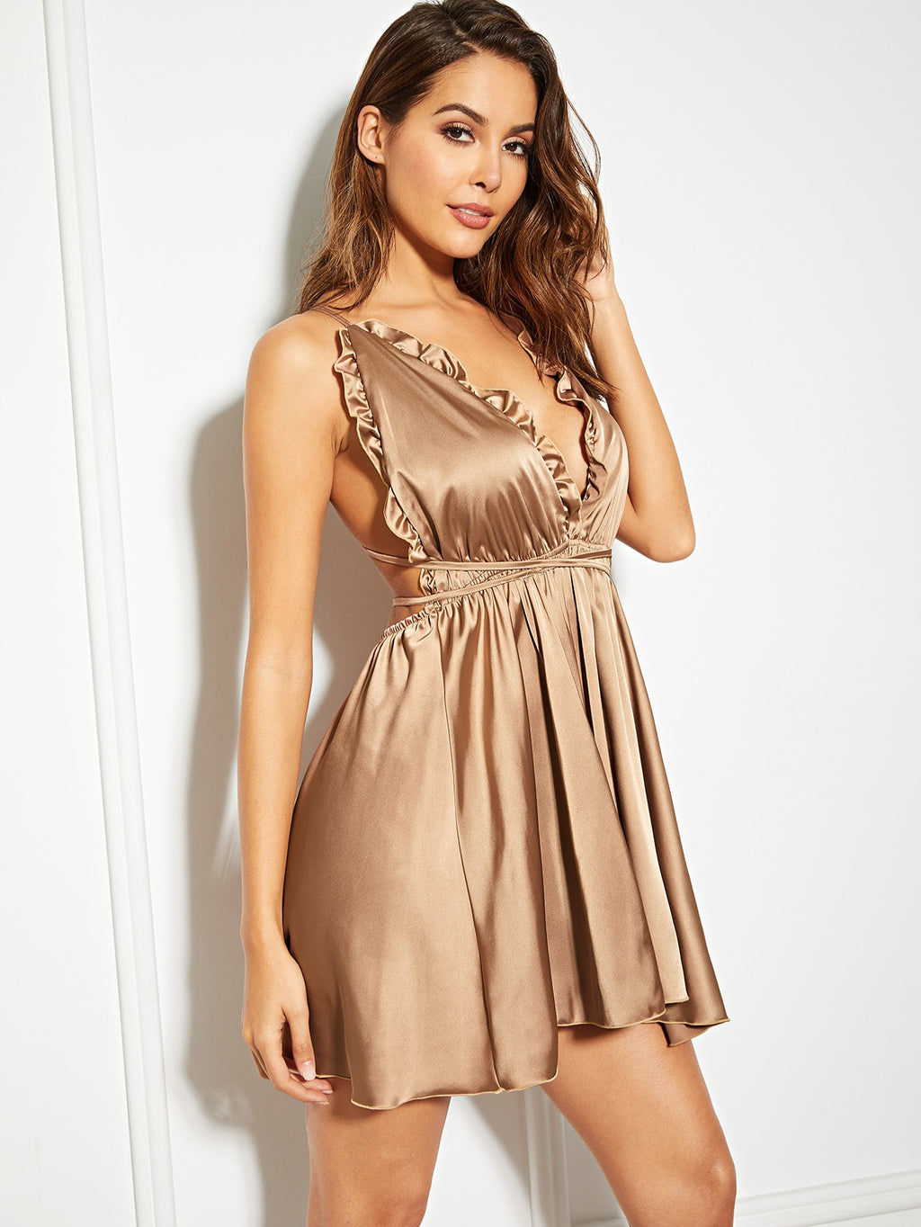 Satin Cami Dress