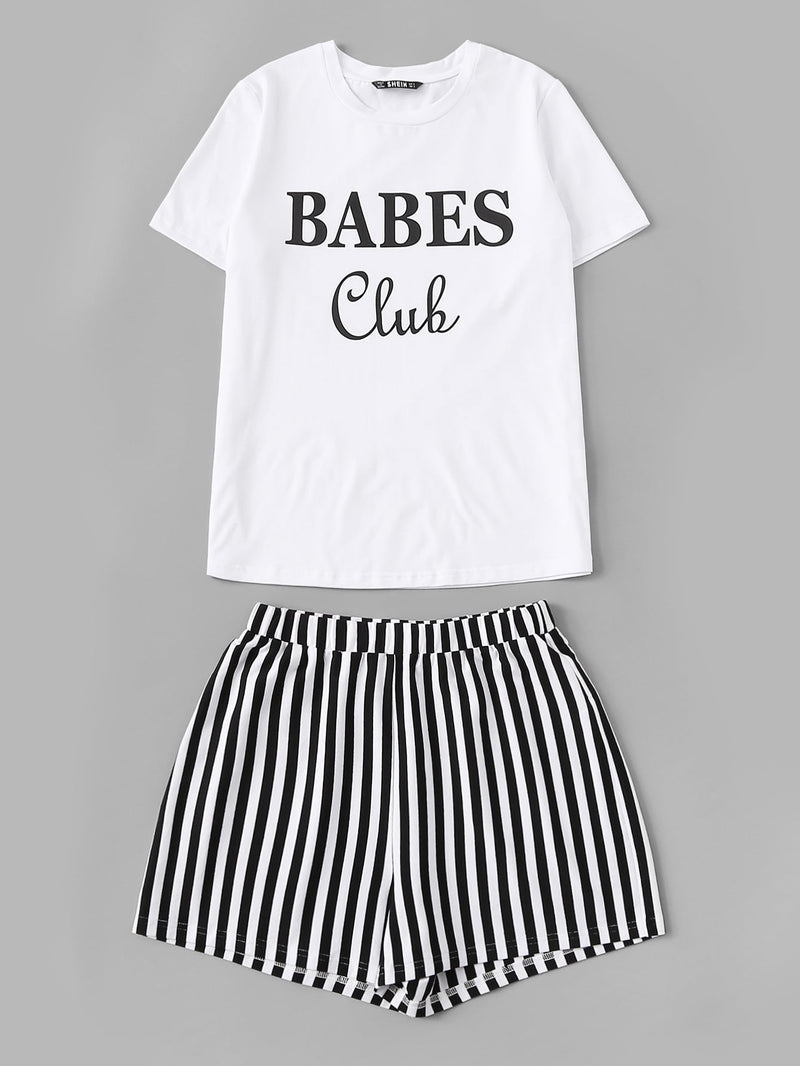 """Babes Club"" PJ Set"