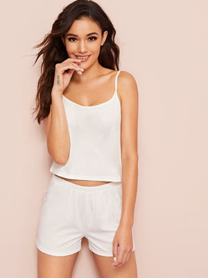 """Bride"" Cami Top & Shorts PJ Set"