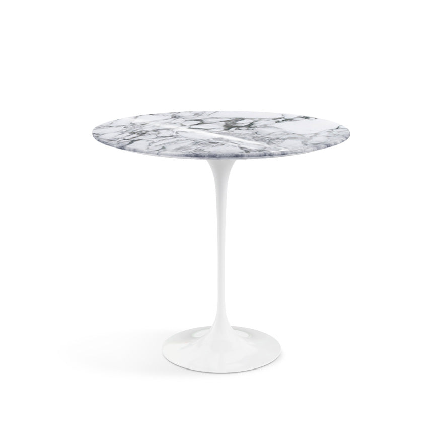 "Saarinen Oval Marble Side Table 22""(57 cm) 