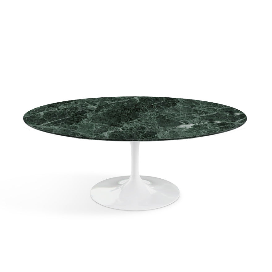 "Saarinen Marble Oval Coffee Table 42""(107 cm) 