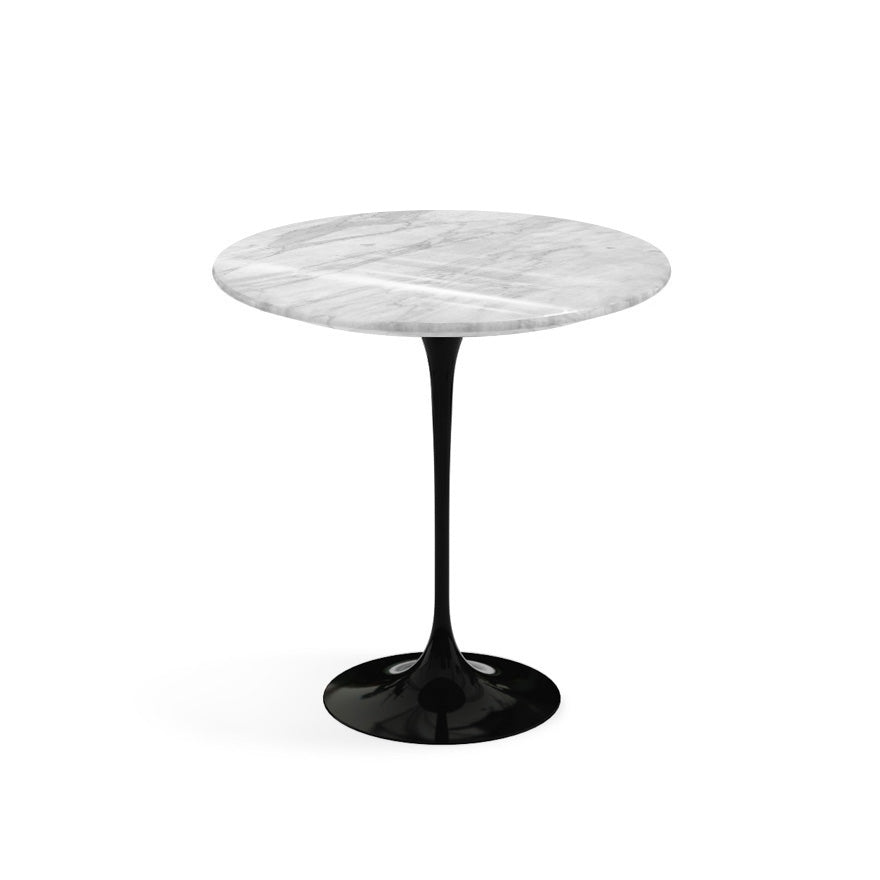 "Saarinen Round Marble Side Table 20""(50 cm) 