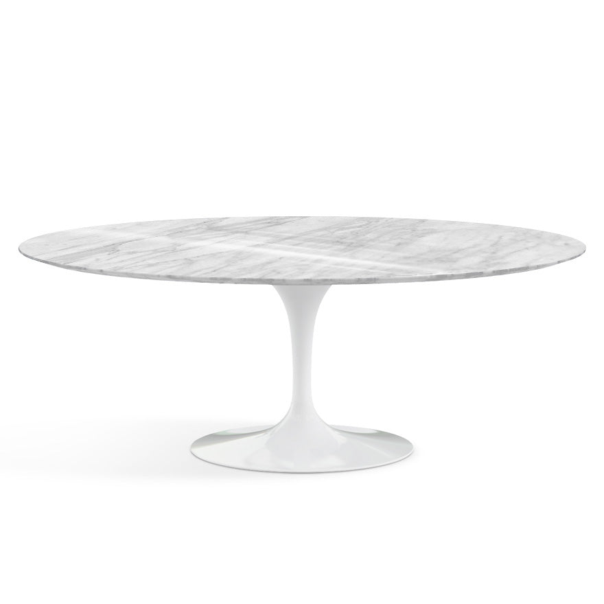 "Saarinen Marble Oval Dining Table 78""(198 cm) 