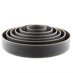 Hasami Layering Low Bowl (3 Colors, 5 Sizes)