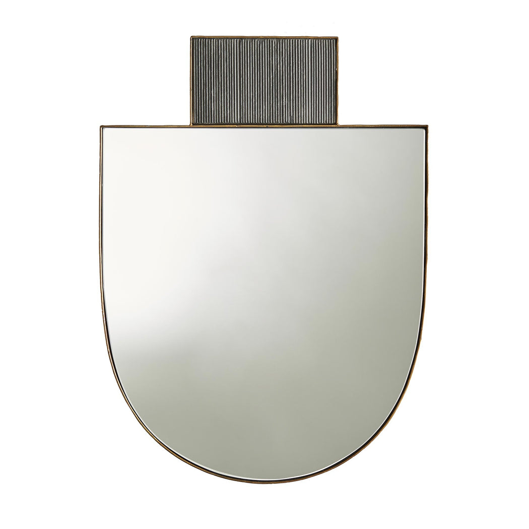 Gold Horseshoe Wall Mirror
