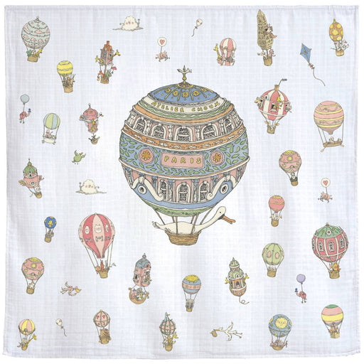 Swaddle | Paris Air Balloon Carré