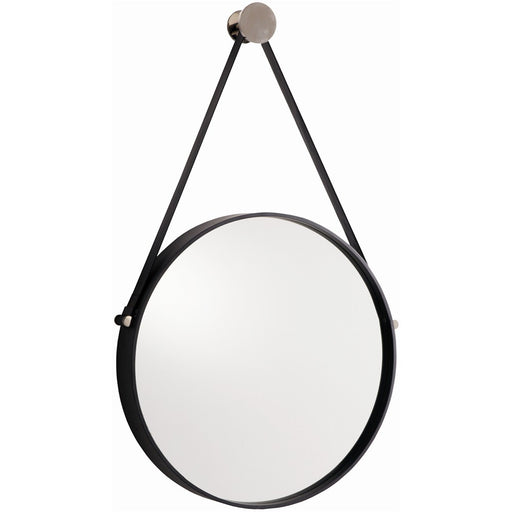 Black Iron Wall Mirror