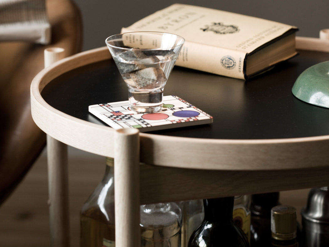 Model 50 Bolling Tray Table | Oak