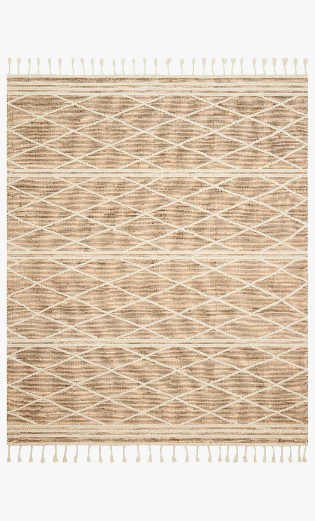 Cora Summer Rug | Blush & White