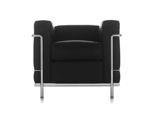 LC 2 Black Arm Chair | Freeship