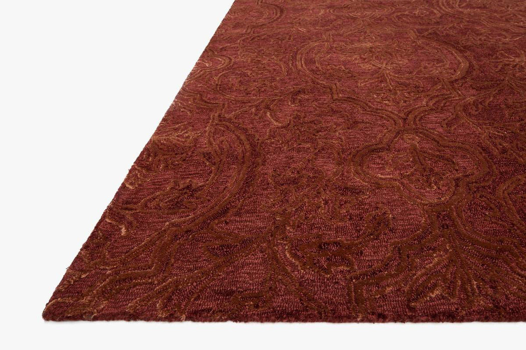 Filigree Rug | Rust