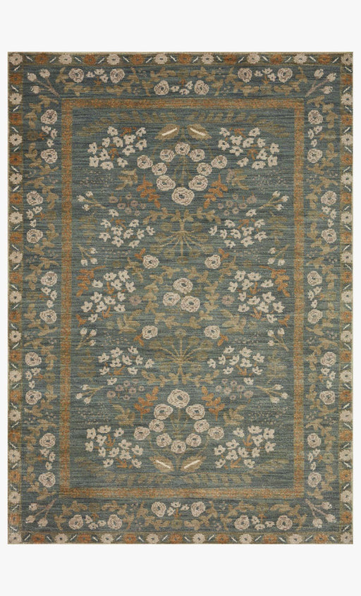 Fiore Florence Rug | Slate & Sage
