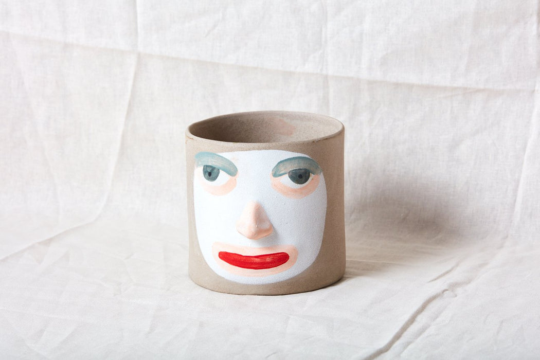 Grey Face Planter (2 Types)