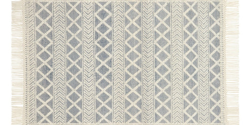 Holloway Rug | Navy & Ivory