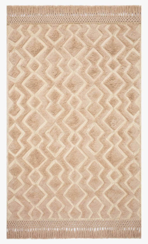 Laine Rug | Blush & Natural