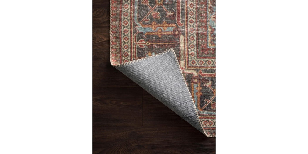 Loren Rug | Brick & Midnight