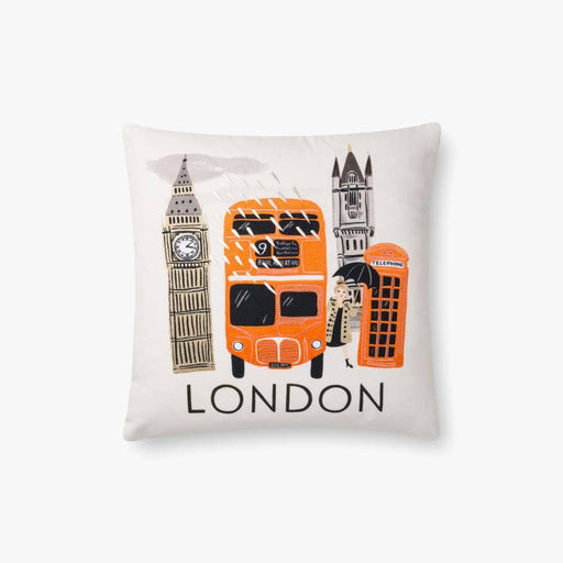 London Bus Pillow