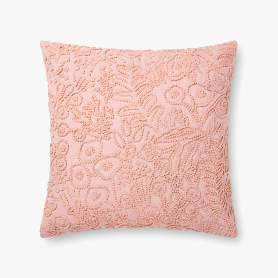Rose Botanical Pattern Texture Pillow