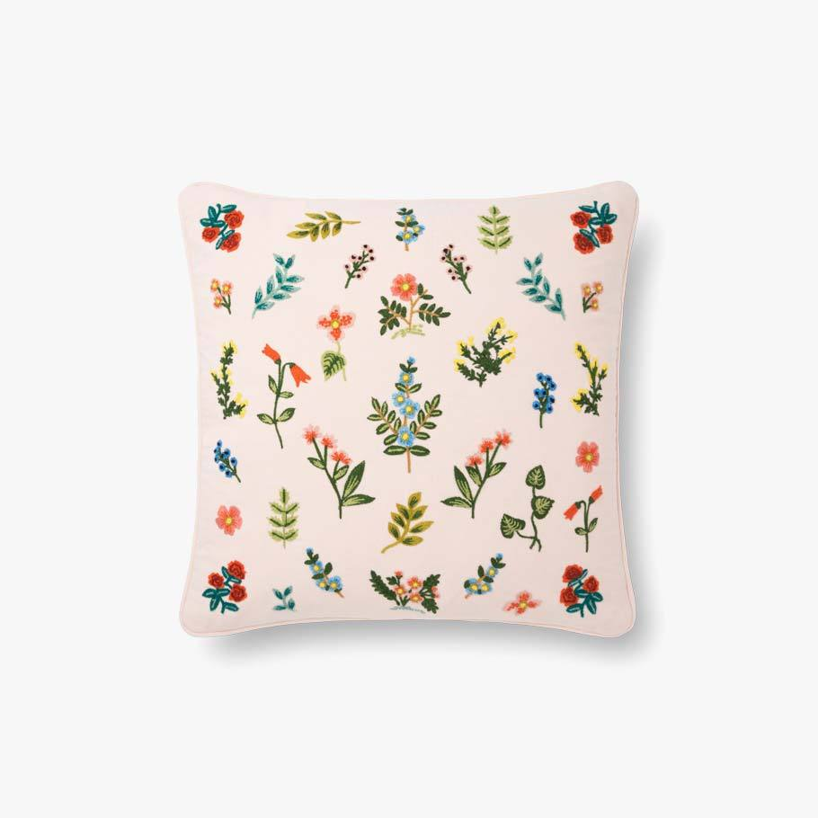 Blush Little Flowers Pillow