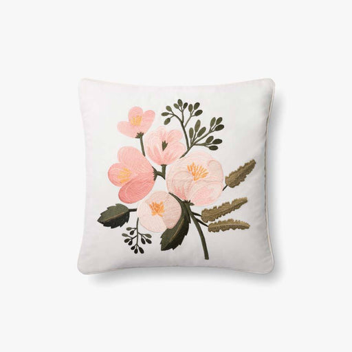 Baby Pink Flower Pillow