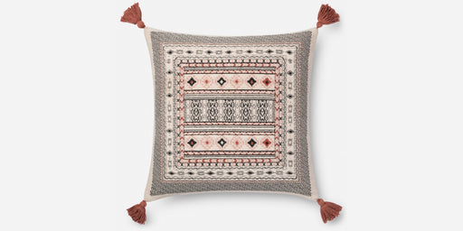 Red Tassel Inca Pillow